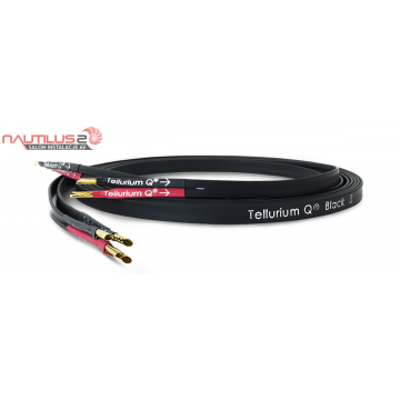 Tellurium Q BLACK II - KABEL GŁOŚNIKOWY 2 x 2m